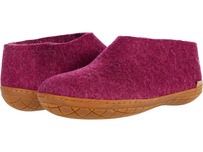 グリオプス メンズ サンダル シューズ Wool Shoe Rubber Outsole Cranberry/Honey画像
