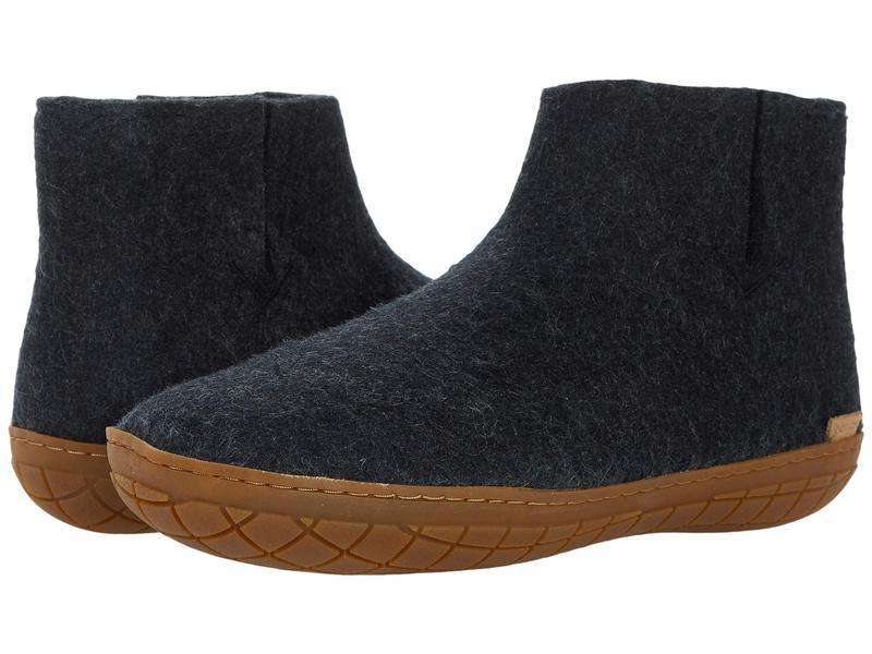 グリオプス メンズ サンダル シューズ Wool Boot Rubber Outsole Charcoal/Honey画像