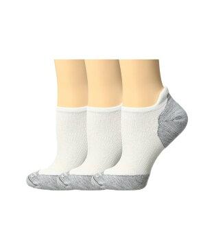 スマートウール レディース 靴下 アンダーウェア PhD Run Elite Micro 3-Pair Pack White/Light Gray