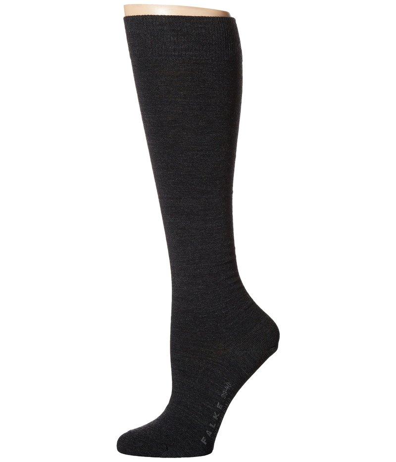 靴下・レッグウェア, 靴下  Soft Merino Knee Highs Anthracite