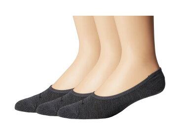 スマートウール メンズ 靴下 アンダーウェア No Show 3-Pack Medium Gray Heather
