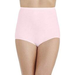 バニティフェア レディース パンツ アンダーウェア Perfectly Yours Tailored Cotton Brief Panty 15318 Ballet Pink