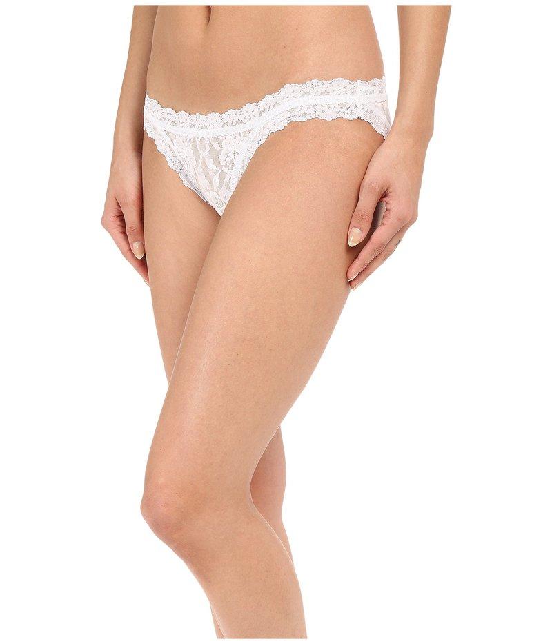ショーツ, スタンダード  Signature Lace Brazalian Bikini White