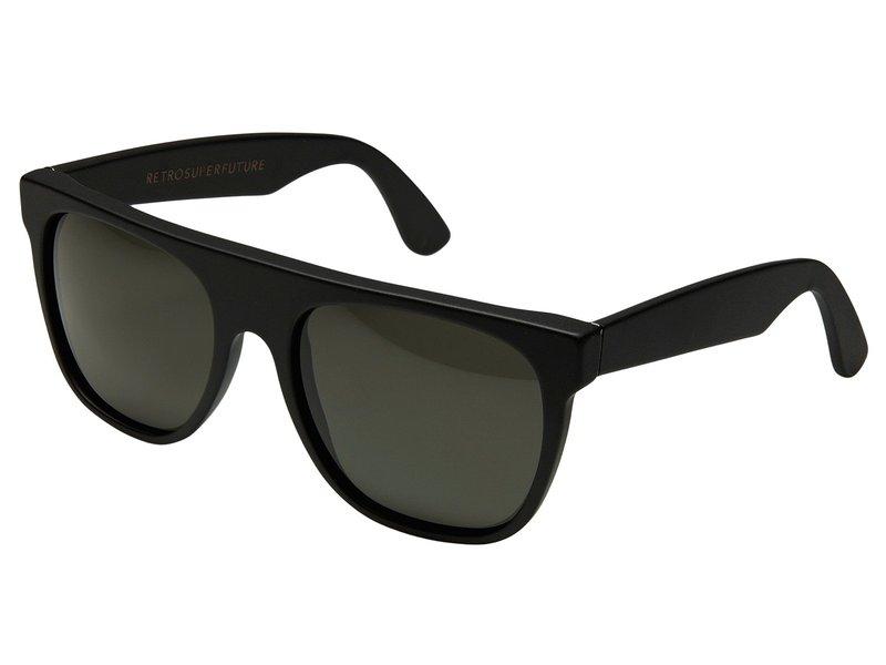 スーパー メンズ サングラス・アイウェア アクセサリー Flat Top 55mm Matte Black / Black