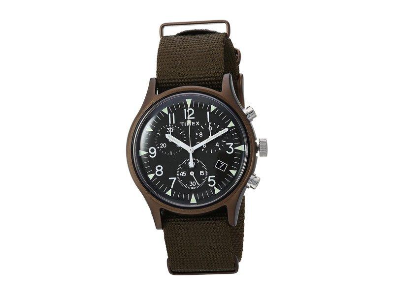 タイメックス メンズ 腕時計 アクセサリー MK1 Aluminum Chrono Olive/Olive