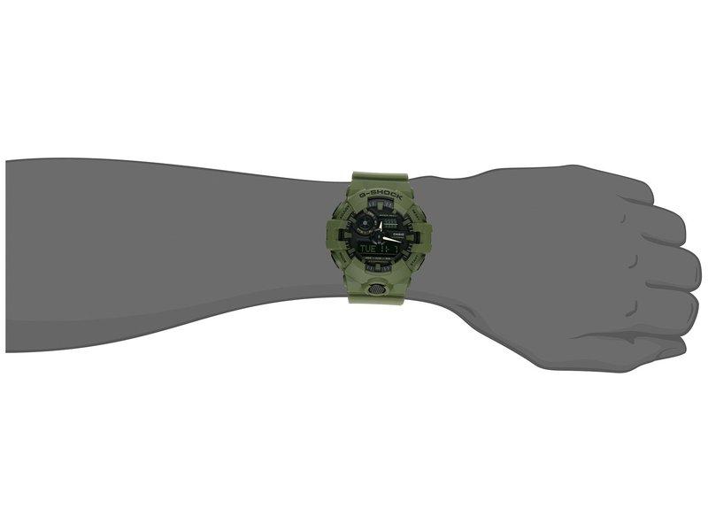 ジーショック メンズ 腕時計 アクセサリー GA-700UC Green