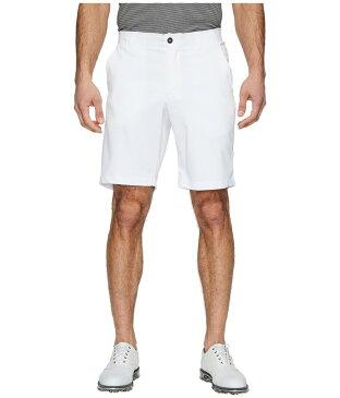 アンダーアーマー メンズ ハーフパンツ・ショーツ ボトムス UA Showdown Golf Shorts White/Steel Medium Heather/White