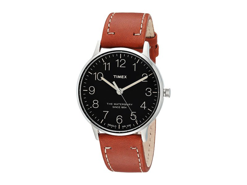 タイメックス メンズ 腕時計 アクセサリー Waterbury Classic 40 Brown/Black