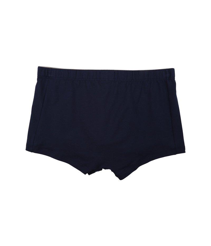 ハンロ メンズ ブリーフパンツ アンダーウェア Cotton Superior Boxer Brief Midnight Navy