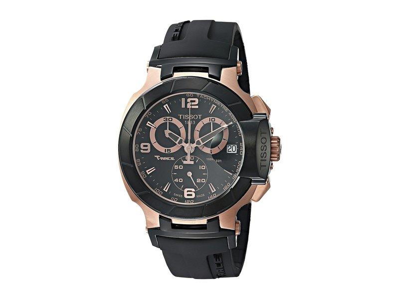 ティソット メンズ 腕時計 アクセサリー T-Race Chronograph - T0484172705706 Black/Black