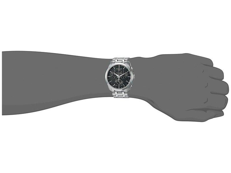 ティソット メンズ 腕時計 アクセサリー Couturier Chronograph - T0356171105100 Black/Grey