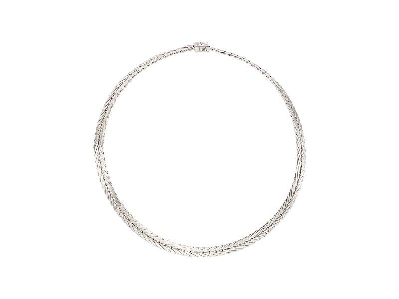 ジョン・ハーディー レディース ネックレス・チョーカー・ペンダントトップ アクセサリー Modern Chain 8mm Necklace Silver