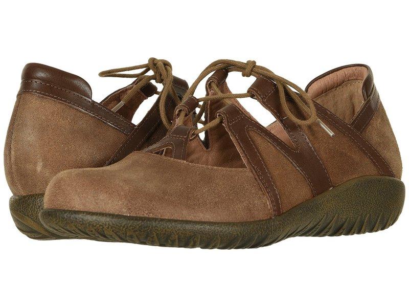 ナオト レディース サンダル シューズ Timu Antique Brown Suede/Toffee Brown Leather