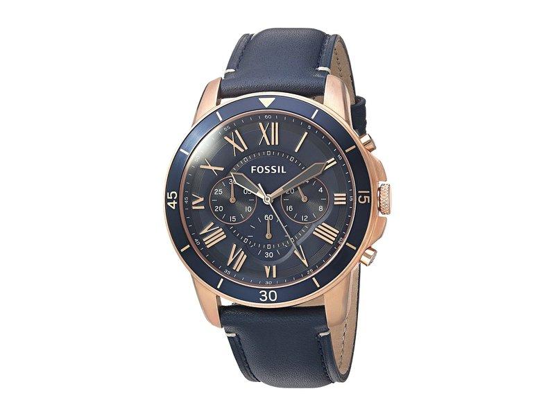 フォッシル メンズ 腕時計 アクセサリー Grant Sport - FS5237 Blue