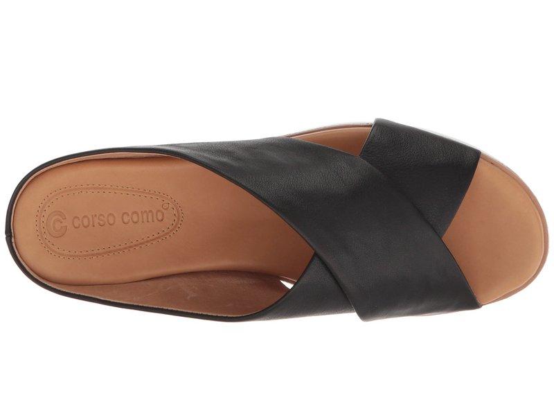 コルソ コモ レディース サンダル シューズ Brunna Black Leather