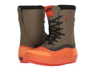 バンズ メンズ ブーツ・レインブーツ シューズ Standard Snow Boot '18 Green/Orange