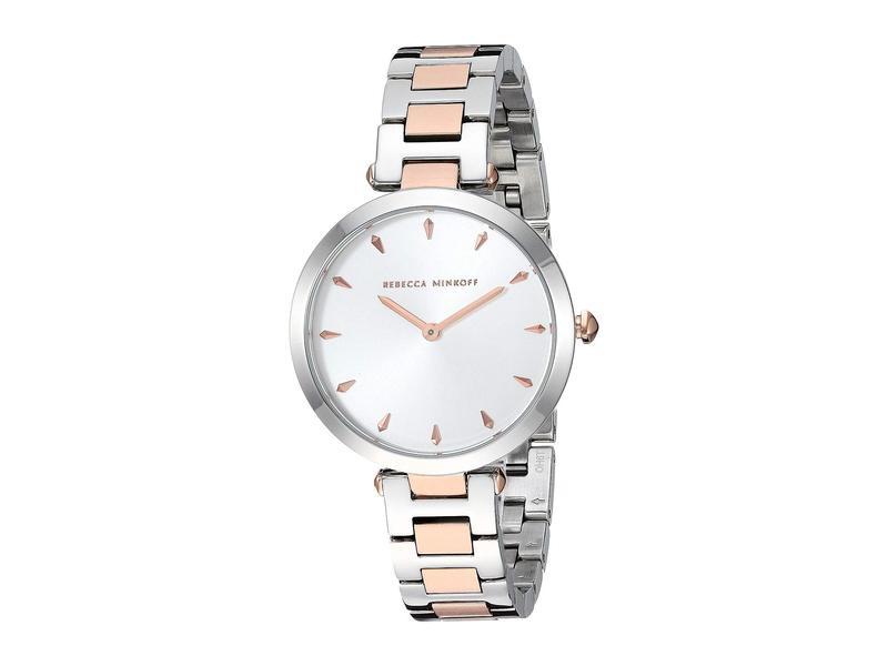 レベッカミンコフ レディース 腕時計 アクセサリー T-Bar - 2200279 Silver