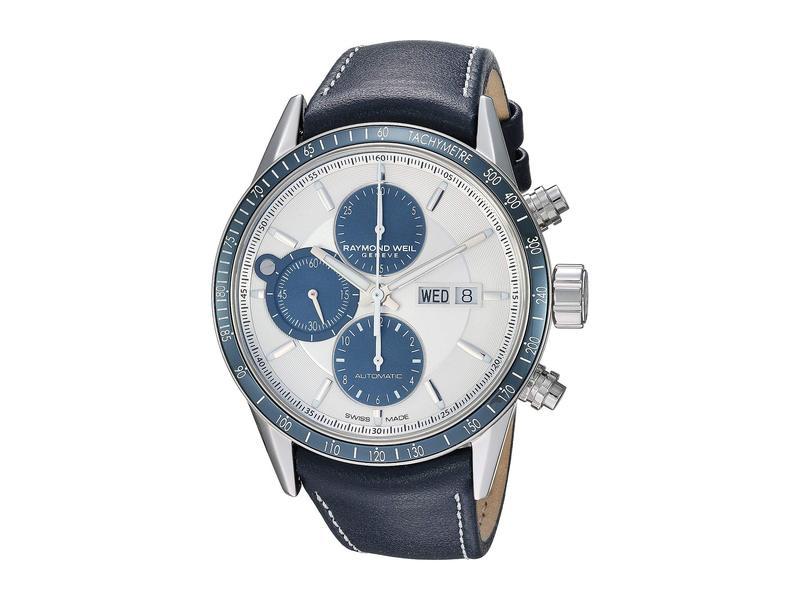 レイモンド ウィル メンズ 腕時計 アクセサリー Freelancer - 7731-SC3-65521 Silver/Blue