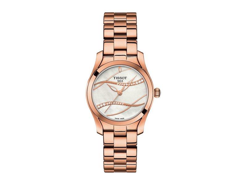0e64a580a9 ティソット レディース 腕時計 アクセサリー T-Wave - T1122103311100 Silver/Rose Gold 送料無料  サイズ交換無料 ティソット レディース アクセサリー 腕時計 ...