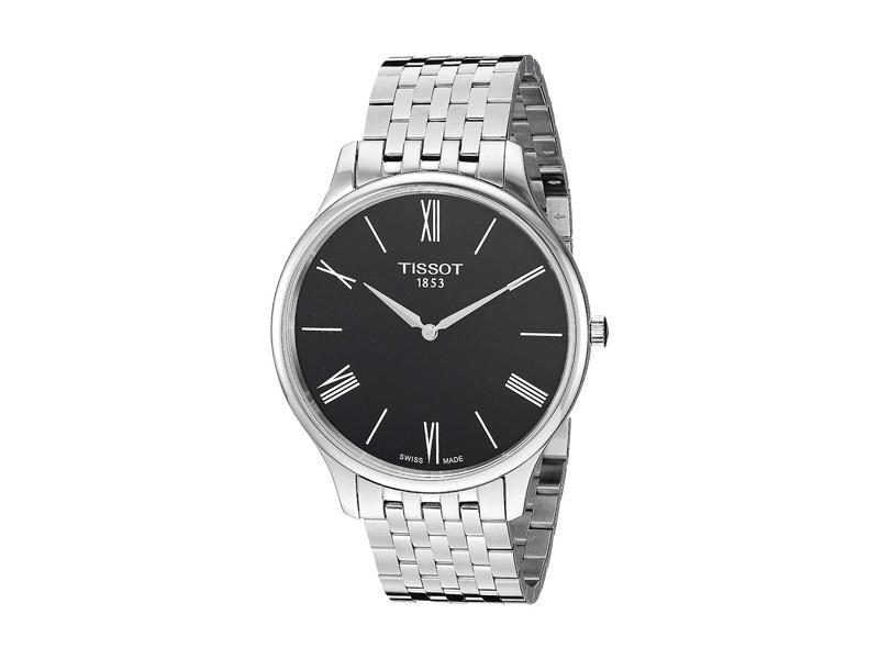 ティソット メンズ 腕時計 アクセサリー Tissot Tradition - T0634091105800 Silver/Black
