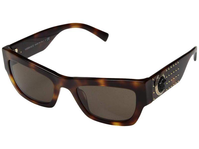 ヴェルサーチ レディース サングラス・アイウェア アクセサリー VE4358 Havana/Brown