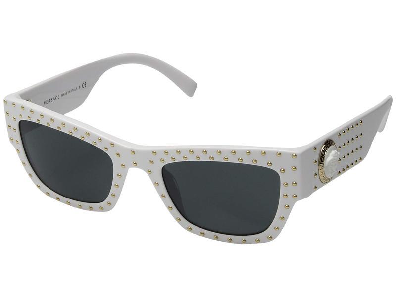 ヴェルサーチ レディース サングラス・アイウェア アクセサリー VE4358 White/Grey