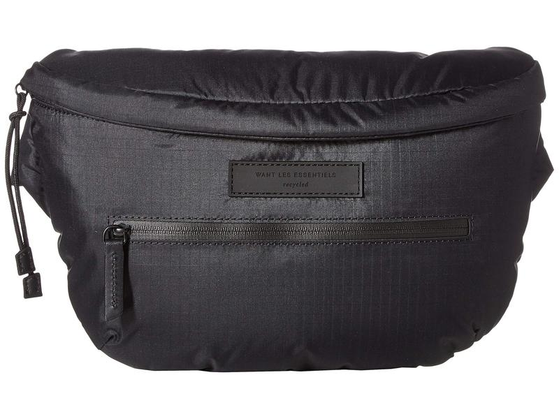 1efef93450d0 ウォントレスエッセンシャル メンズ ボディバッグ·ウエストポーチ バッグ Fillmore Waist Pack Black Eco  Nylon/Black 送料無料 サイズ交換無料 ウォントレス ...
