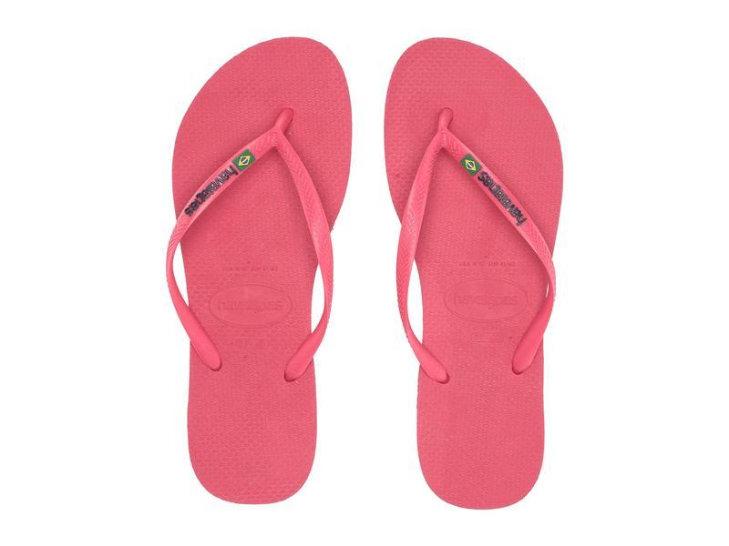 ハワイアナス レディース サンダル シューズ Slim Brazil Flip-Flops Flamingo