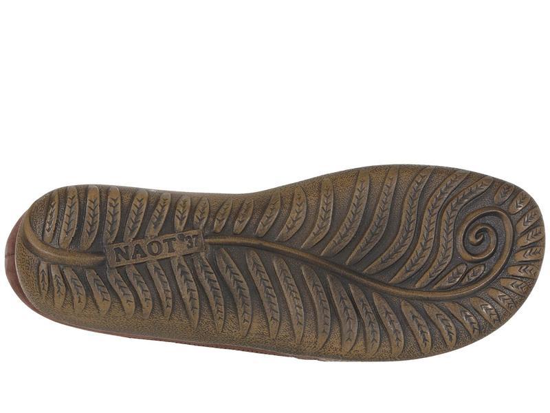 ナオト レディース サンダル シューズ Kata Brown Lizard Leather/Shiitake Nubuck/Coffee Bean Nubuck