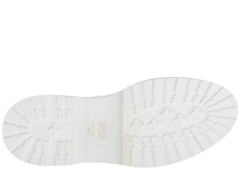 マルタンマルジェラ レディース ブーツ・レインブーツ シューズ Lace-Up Combat Boot Cloud Dancer