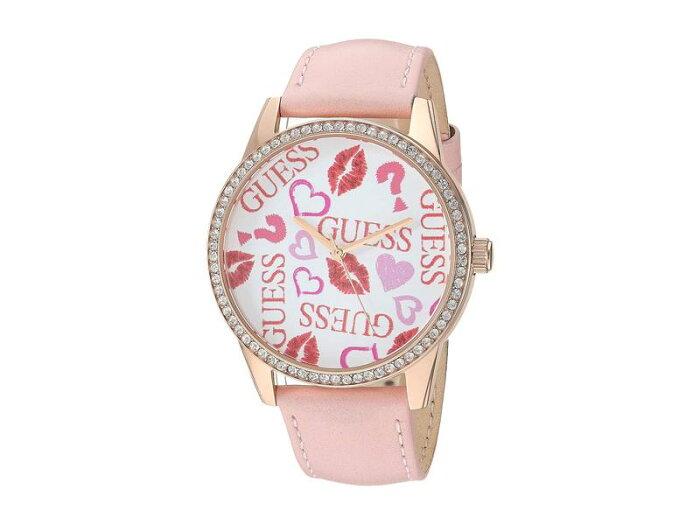 ゲス レディース 腕時計 アクセサリー U1206L3 Pink/Red/Gold