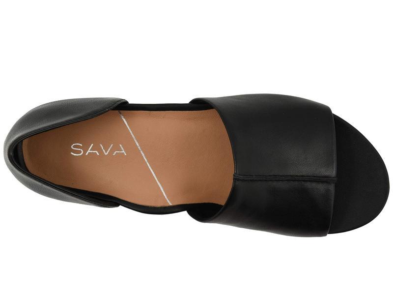 ソフトウォーク レディース サンダル シューズ SAVA x SoftWalk Calera Black