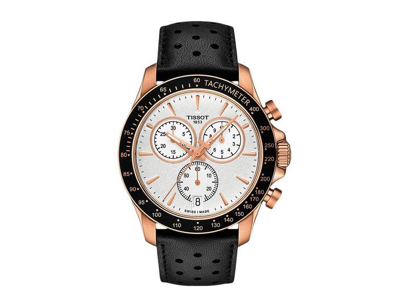 ティソット メンズ 腕時計 アクセサリー V8 Chrono Quartz - T1064173603100 Rose Gold