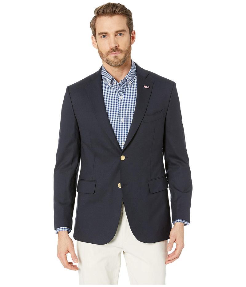 ヴァインヤードヴァインズ メンズ コート アウター Navy Blazer Blue Blazer