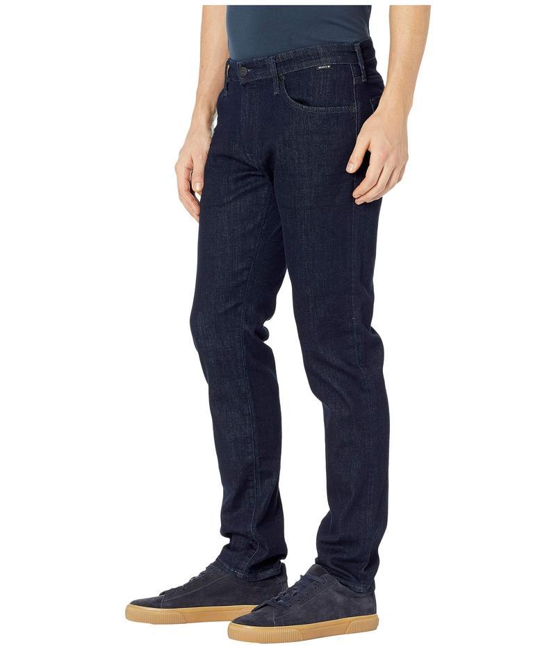 マーヴィ ジーンズ メンズ デニムパンツ ボトムス Marcus Regular Rise Slim Straight Leg in Rinse Portland Rinse Portland
