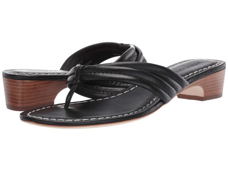 ベルナルド レディース サンダル シューズ Miami Demi Heel Sandals Black Antique Calf