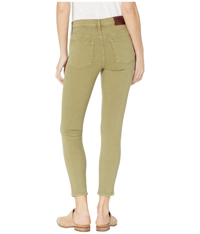 フライ レディース デニムパンツ ボトムス Veronica Cropped Skinny Jeans in Military Sage Military Sage