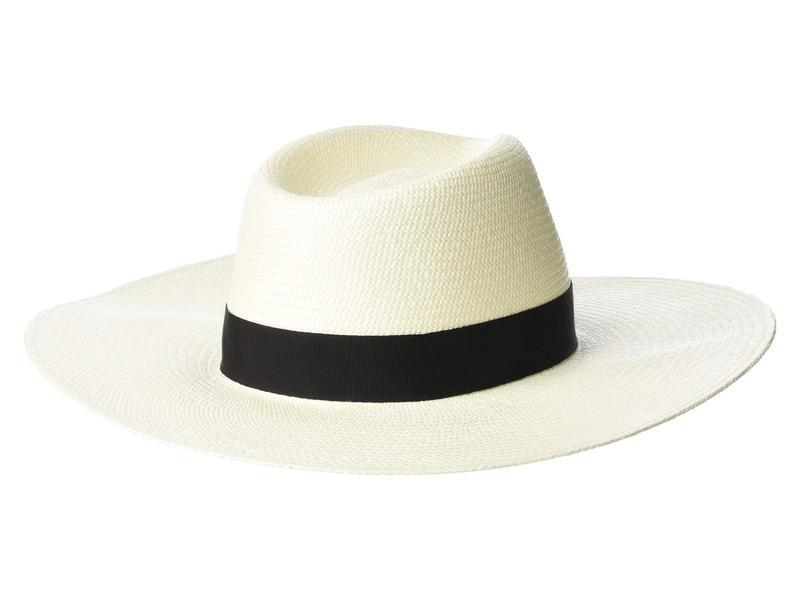 ラグアンドボーン レディース 帽子 アクセサリー Wide Brim Panama Hat White