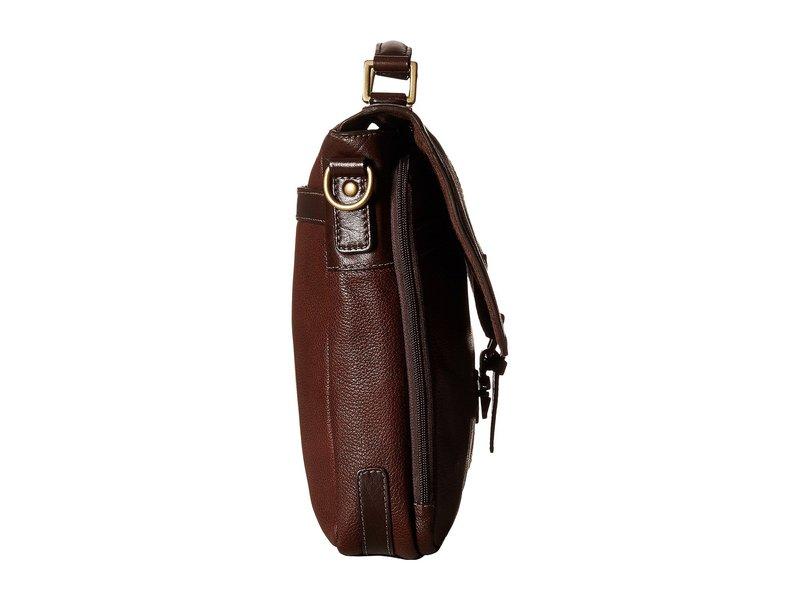 スカーリー メンズ ビジネス系 バッグ Mason Workbag Brief Brown
