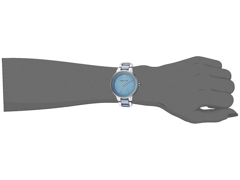 アンクライン レディース 腕時計 アクセサリー AK-1413LBSV Blue/Silver-Tone