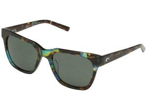 コスタ レディース サングラス・アイウェア アクセサリー Coquina Gray 580G/Shiny Ocean Tortoise Frame