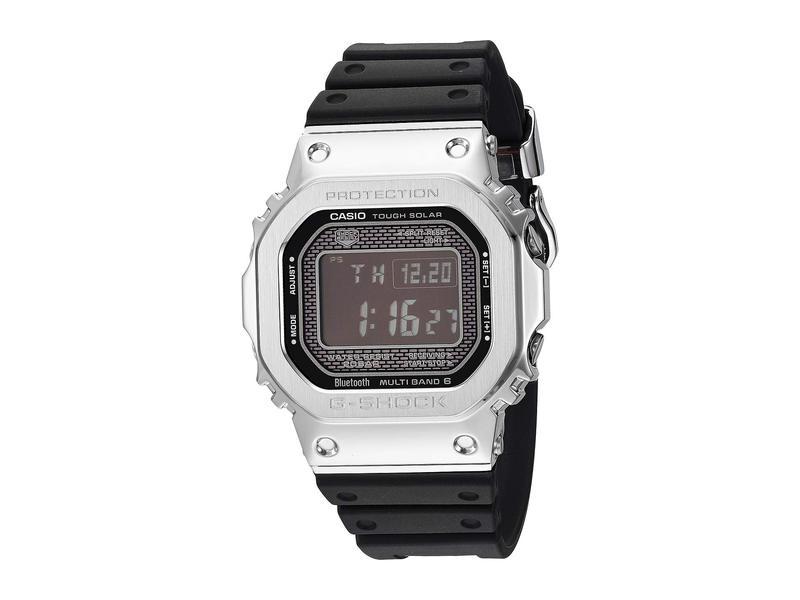 ジーショック メンズ 腕時計 アクセサリー GMW-B5000-1CR Black/Silver