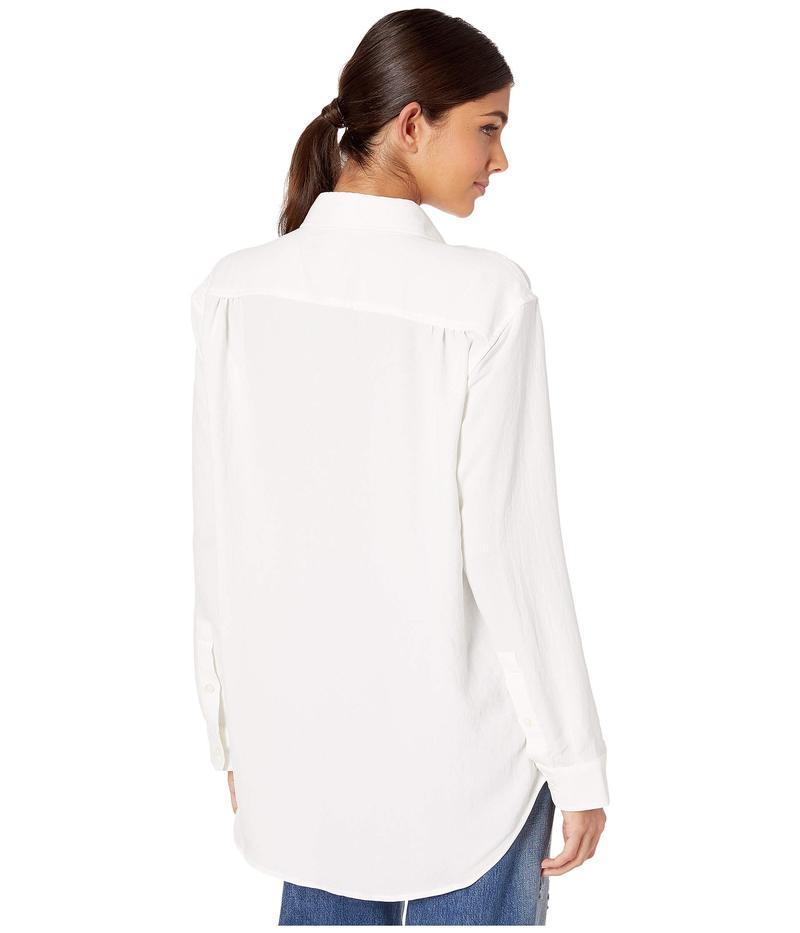 セブンフォーオールマンカインド レディース シャツ トップス Tie Front Shirt Soft White