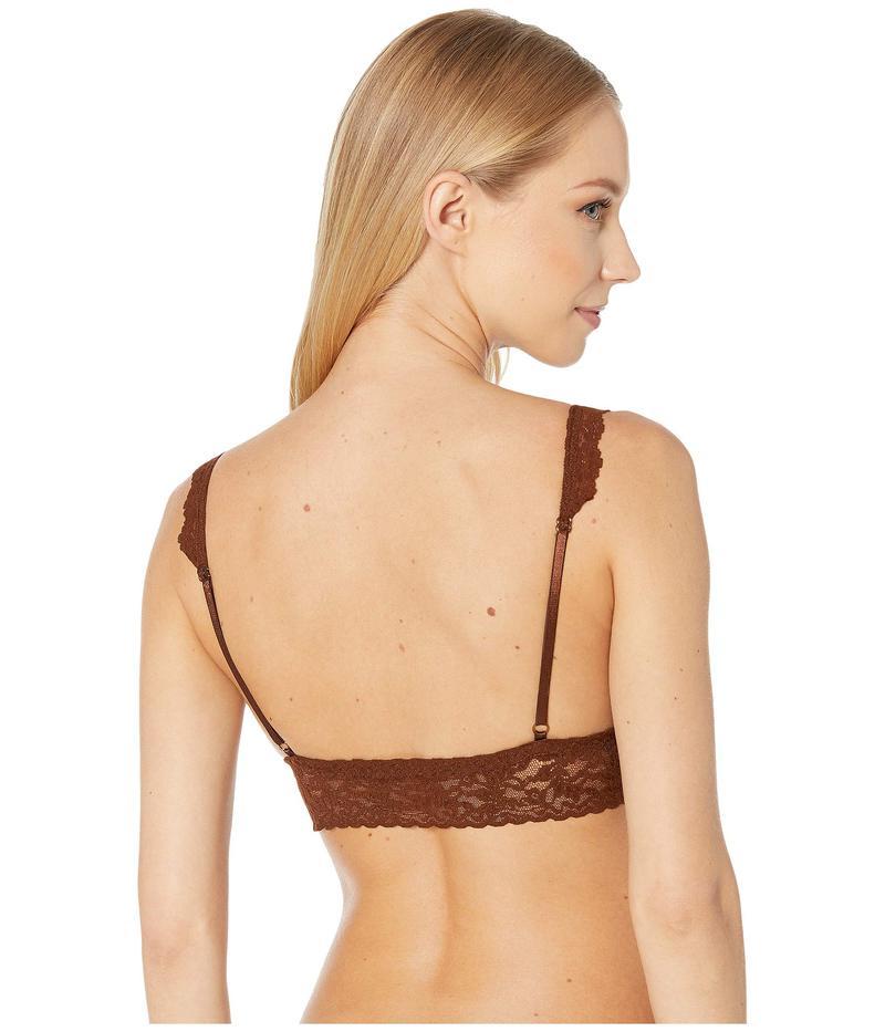 ハンキーパンキー レディース ブラジャー アンダーウェア Signature Lace Crossover Bralette 113 Dark Cocoa