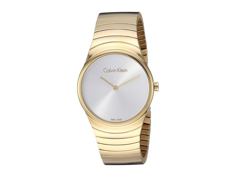 カルバンクライン レディース 腕時計 アクセサリー Whirl Watch - K8A23546 Silver/Rose Gold