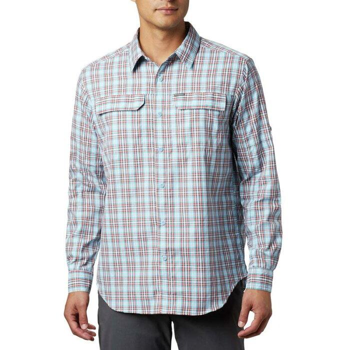 コロンビア メンズ シャツ トップス Silver Ridge 2.0 Plaid Long Sleeve Shirt Clear White Gin