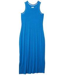 コロンビア レディース ワンピース トップス Slack Water¢ Knit Maxi Dress Stormy Blue