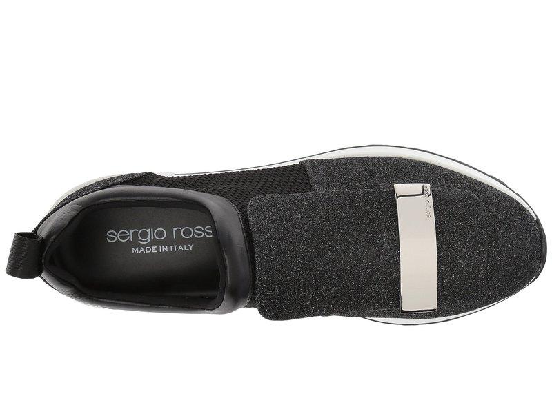 セルジオロッシ レディース スニーカー シューズ A80840-MFN302 Nero Glitter
