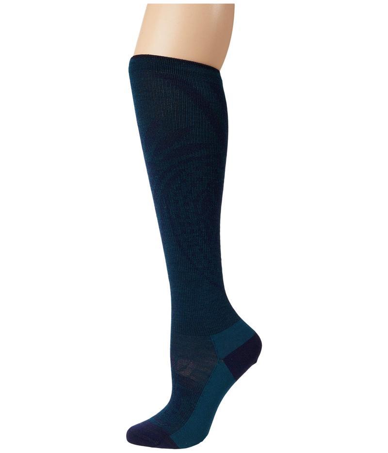 靴下・レッグウェア, 靴下  Chakra Knee High Lightweight w Graduated Light Compression Dark Teal