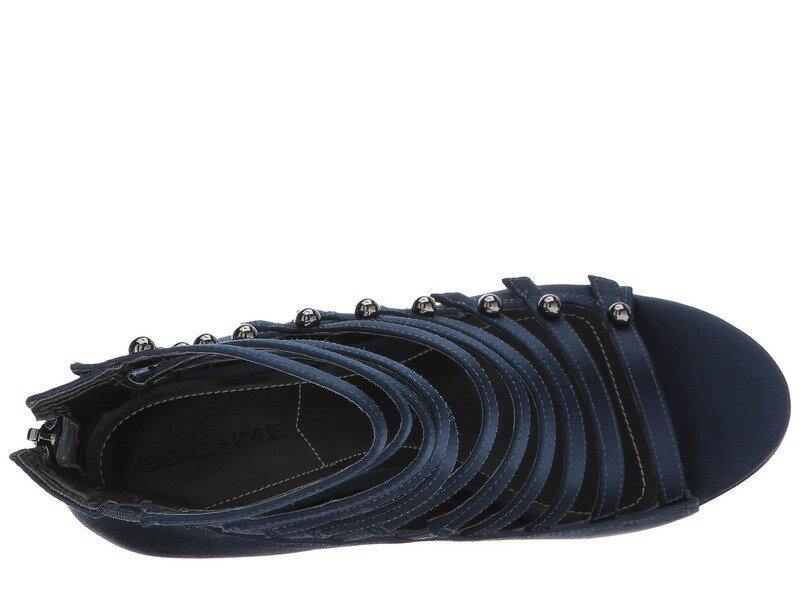 ケンデールアンドカイル レディース サンダル シューズ Giaa 5 Dark Blue Fabric